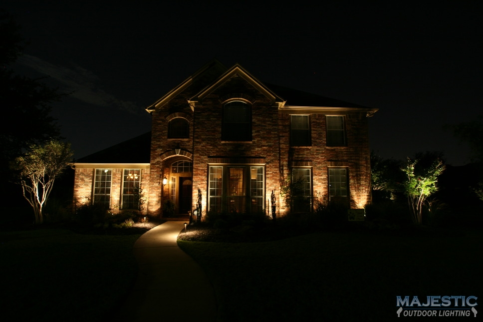 Home exterior lighting gallery - Exterior led lights for homes ...
