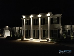 Popular types of outdoor lighting this type of lighting is great for creating an accent over a bench in the garden highlighting the architecture of your home and creating pathways workwithnaturefo