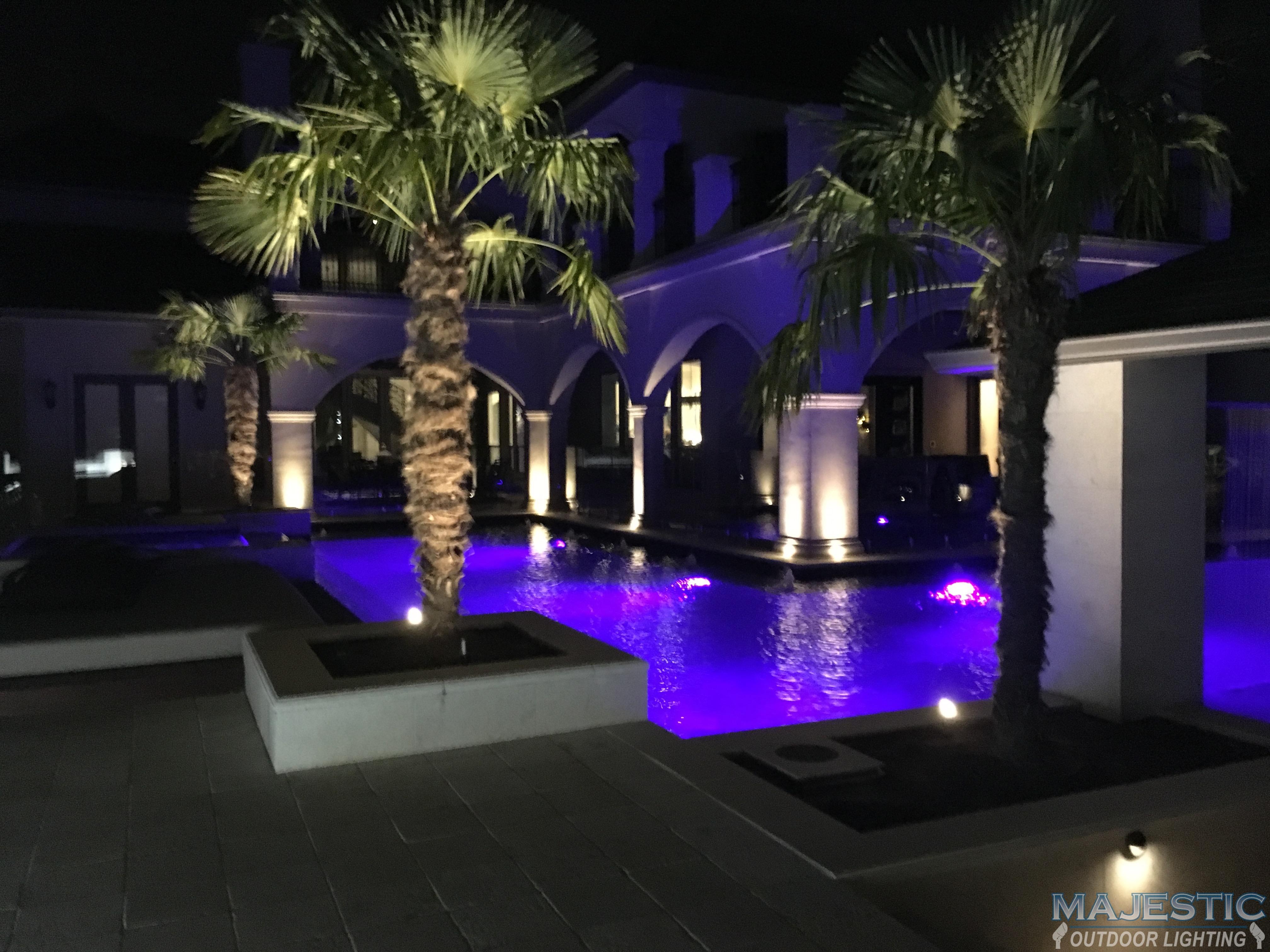 Poolside Lighting Gallery