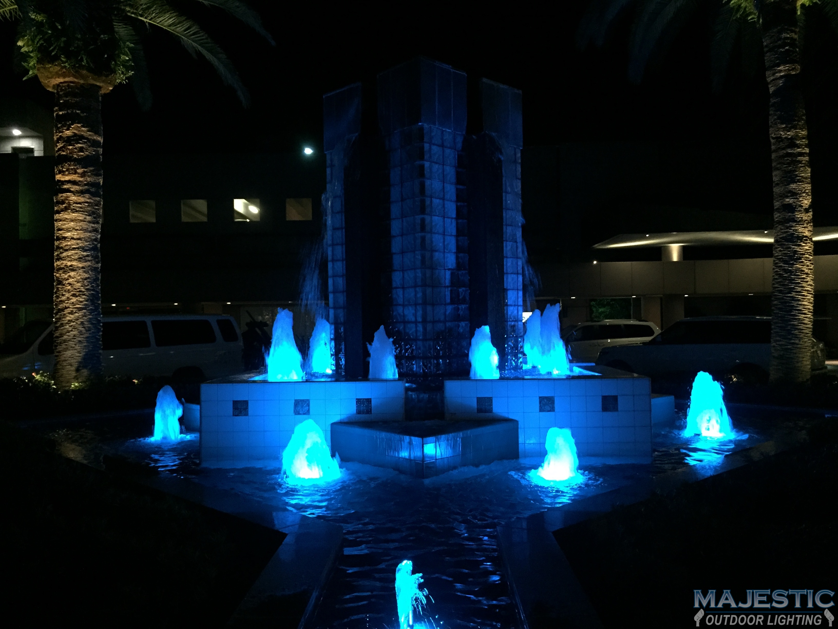 Fort worth tx dallas tx ponds water lighting gallery for Pond lights