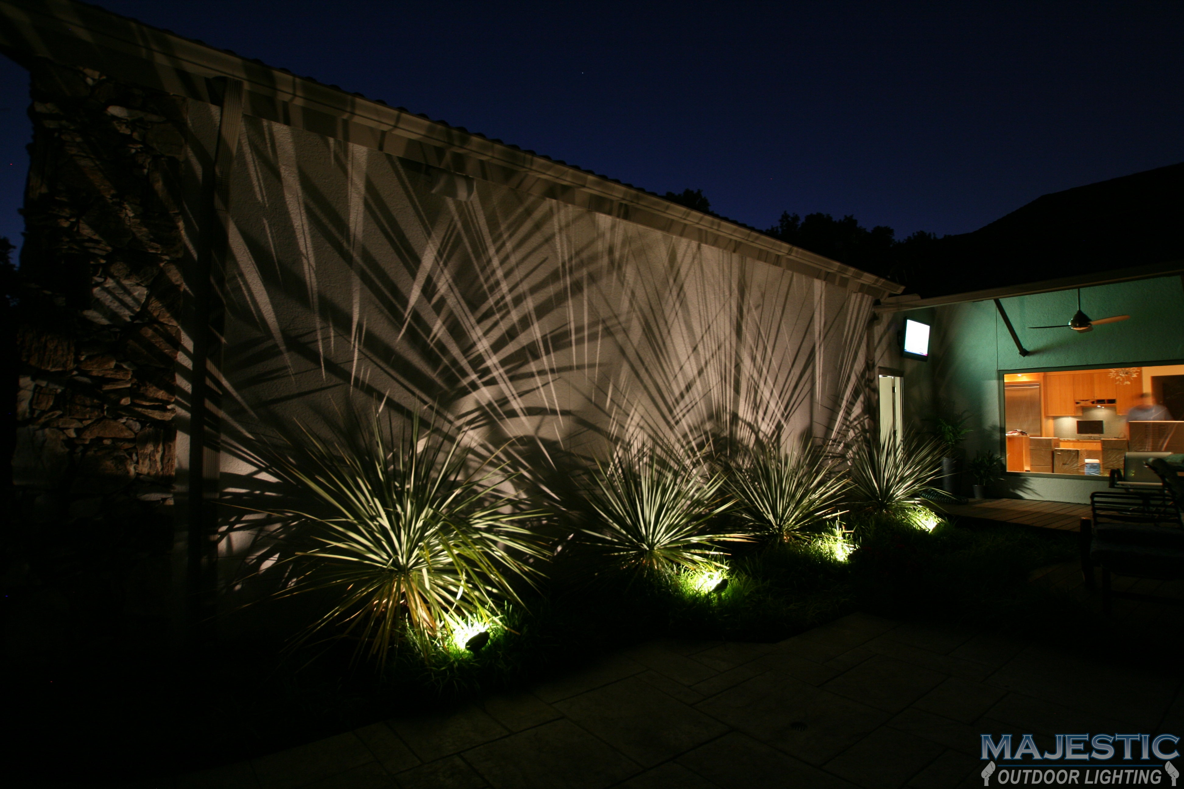 Exterior Lighting: Landscape Lighting Gallery