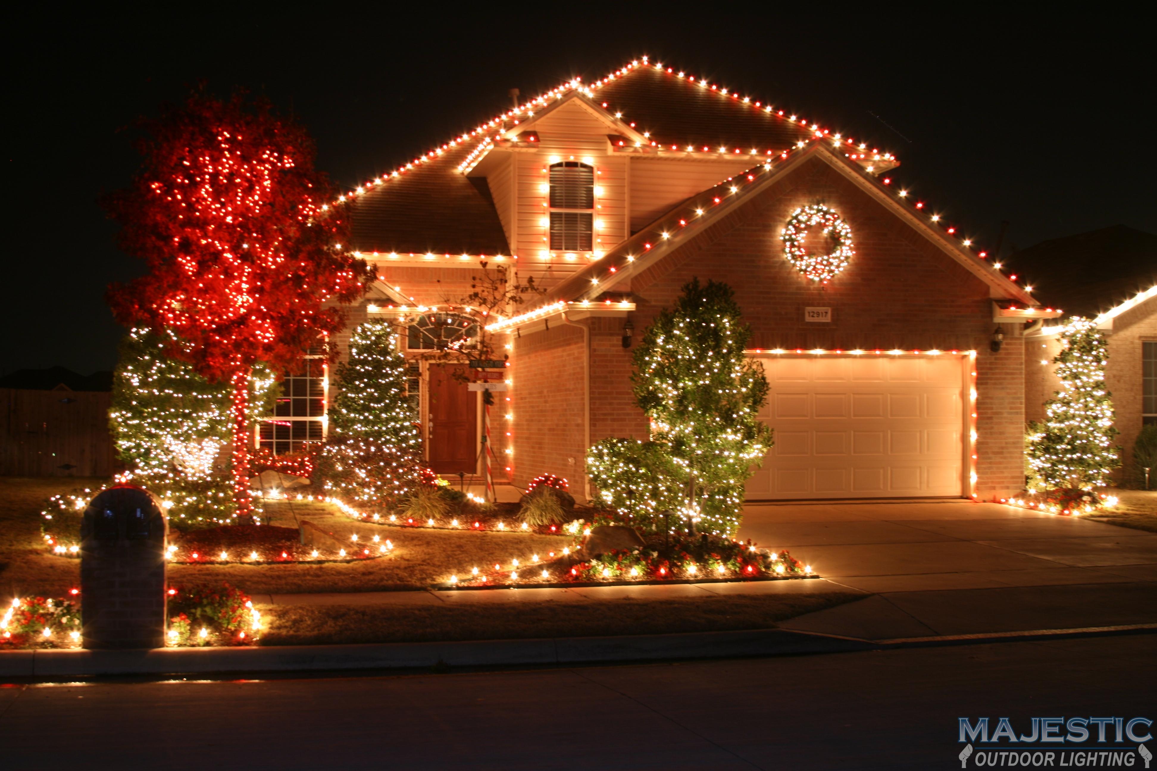 Landscape lighting arlington tx : The christmas lights of interlochen arlington having fun
