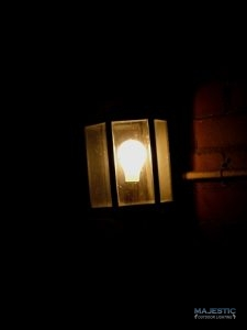 Outdoor Light at Night
