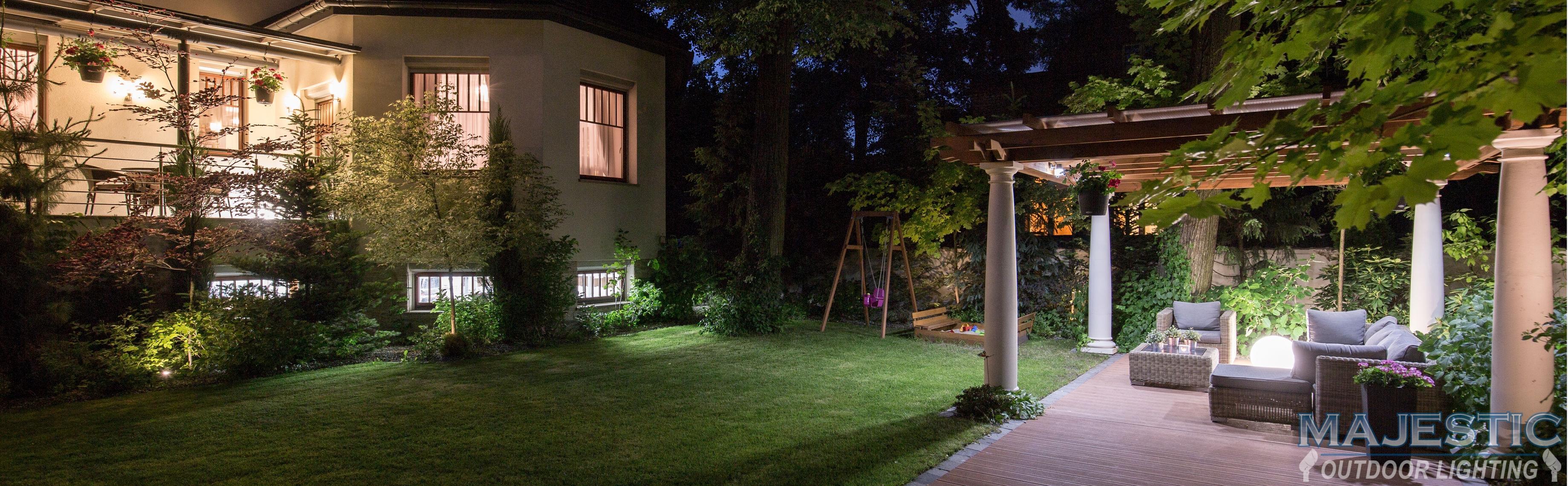 Yard Lights at Night
