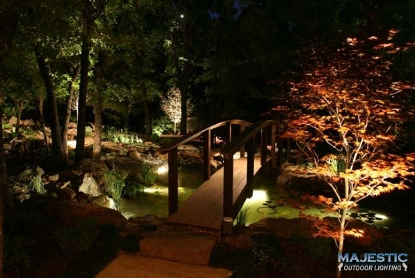 For landscape lighting, LED lights are reliable and dependable.