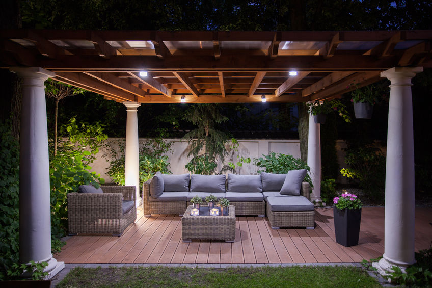 Outdoor and Gazebo Landscape Lighting