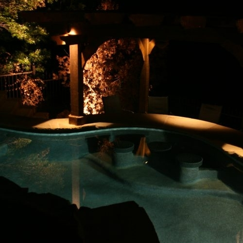 Pool Lighting.