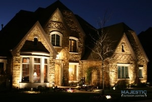 exterior lighting on a home
