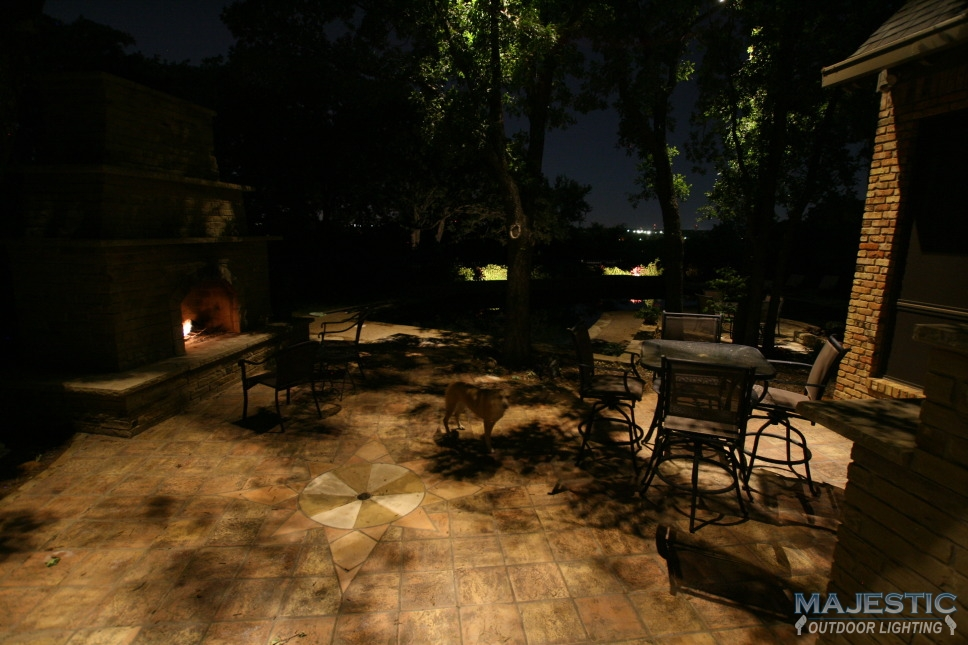 Landscape lighting photo gallery : Downlighting