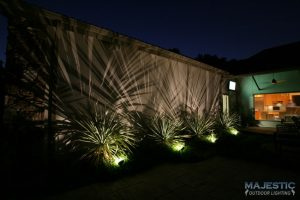 landscape lighting outside